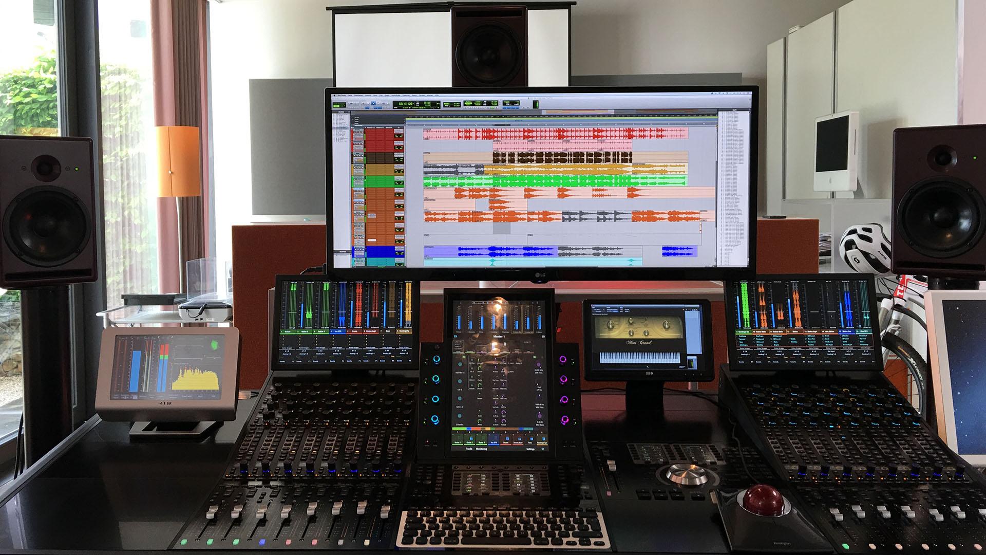 Sounddesign für Radio und TV – Sliderfoto